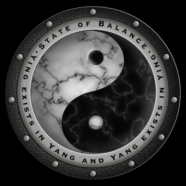 Yin-Yang-Medallion